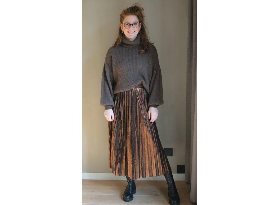 Metallic Tara Skirt