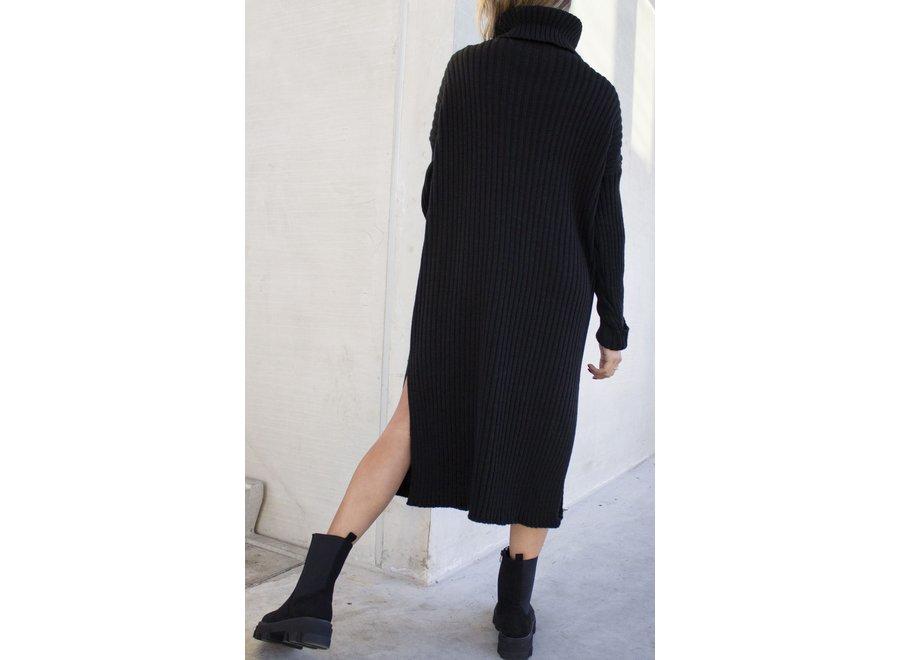Jamie Knitted Dress Black