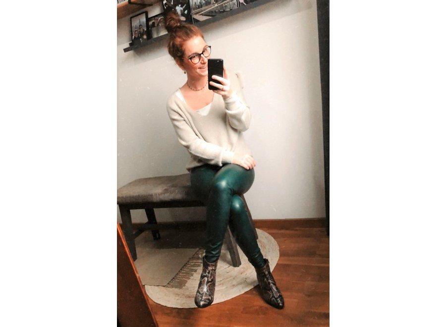 Chelsey Knit Ecru