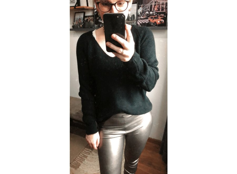 Chelsey Knit Zwart