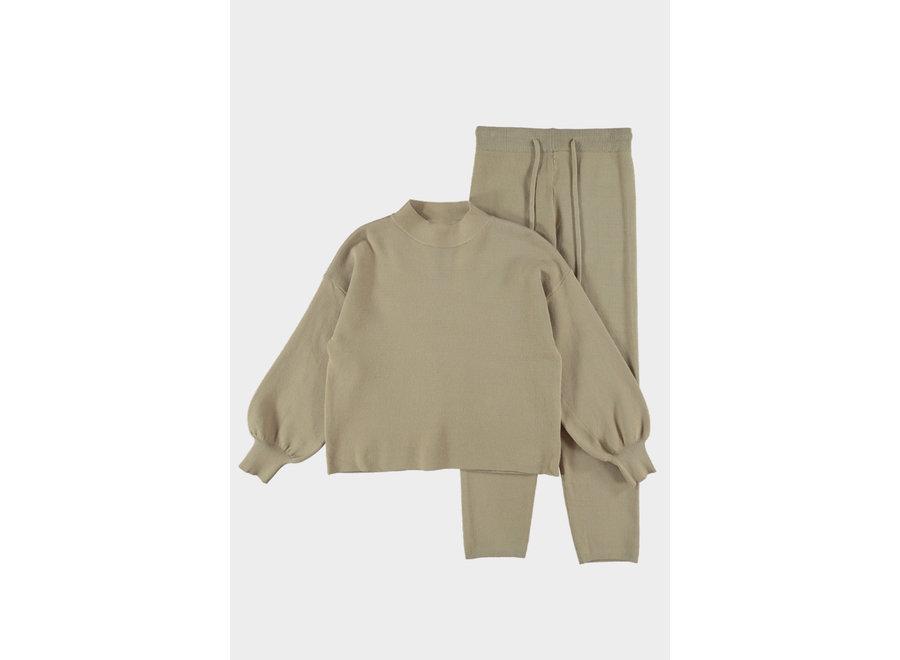 Noah Camel Comfy Suit