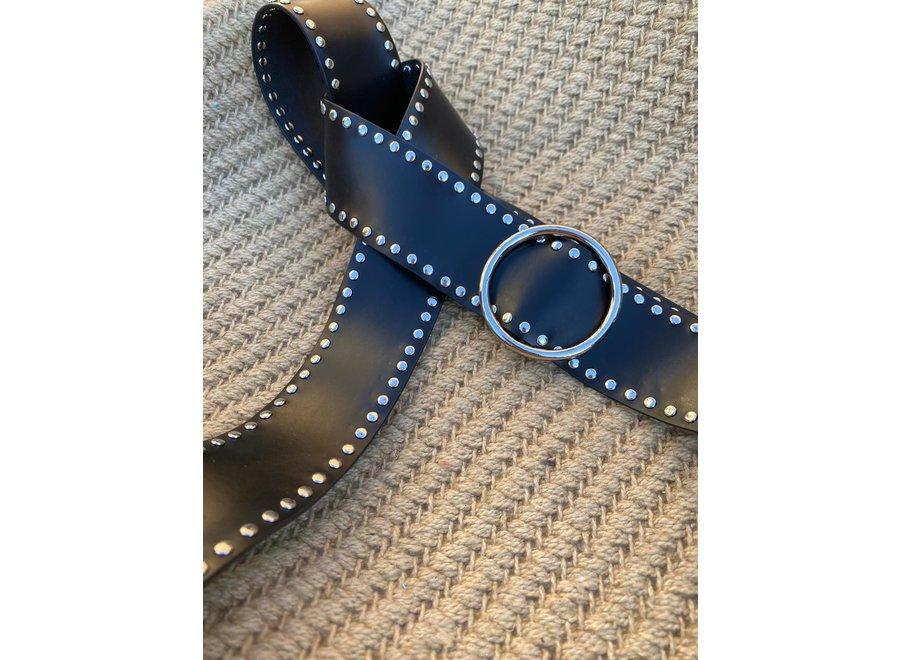 Elvy Belts – Studs zilver