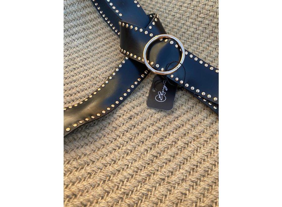 Elvy Belts – Studs goud