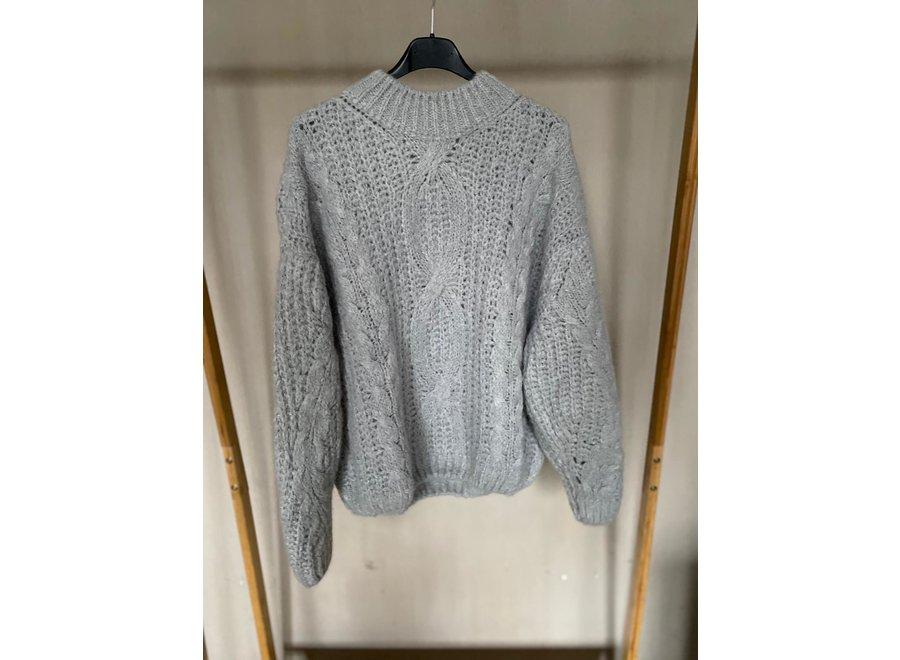 Grey Kiko Knitwear