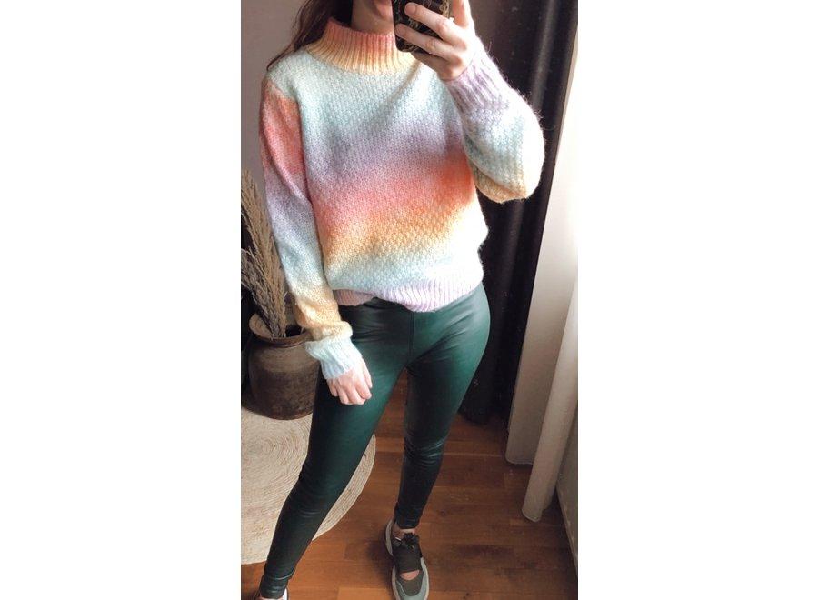 Rainbow Kiko Sweater