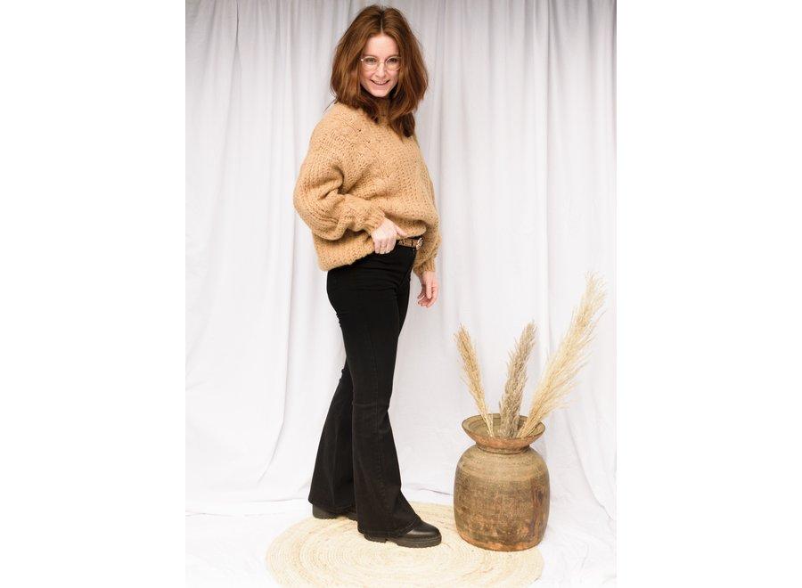 Camel Kiko Knitwear