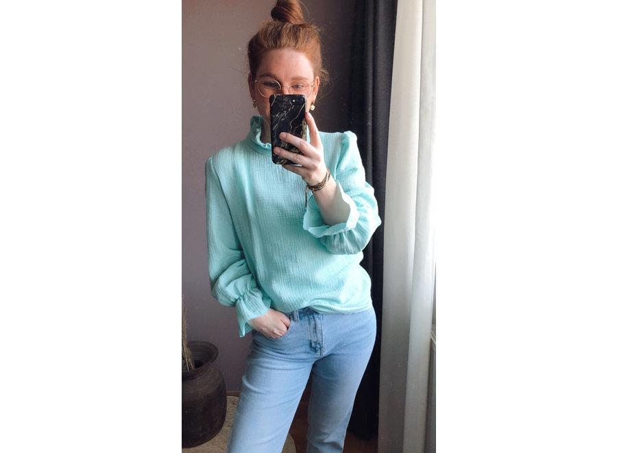Suzy Blouses Light Blue