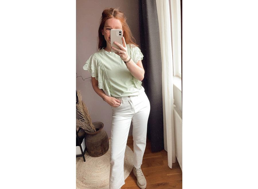Amy Basic Top Mint