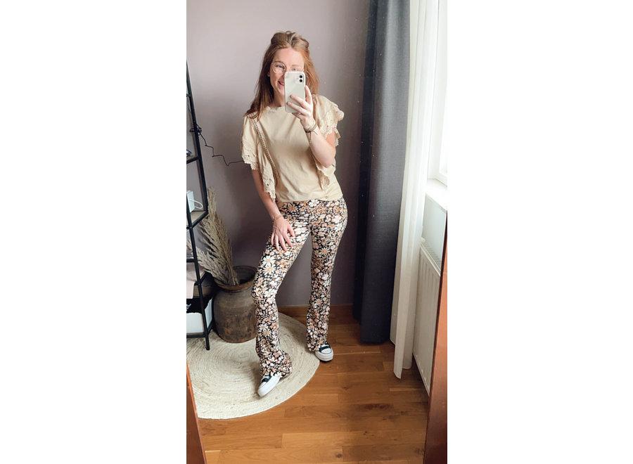 Amy Basic Top Beige