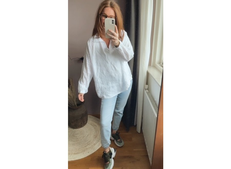 Evy Blouse Wit