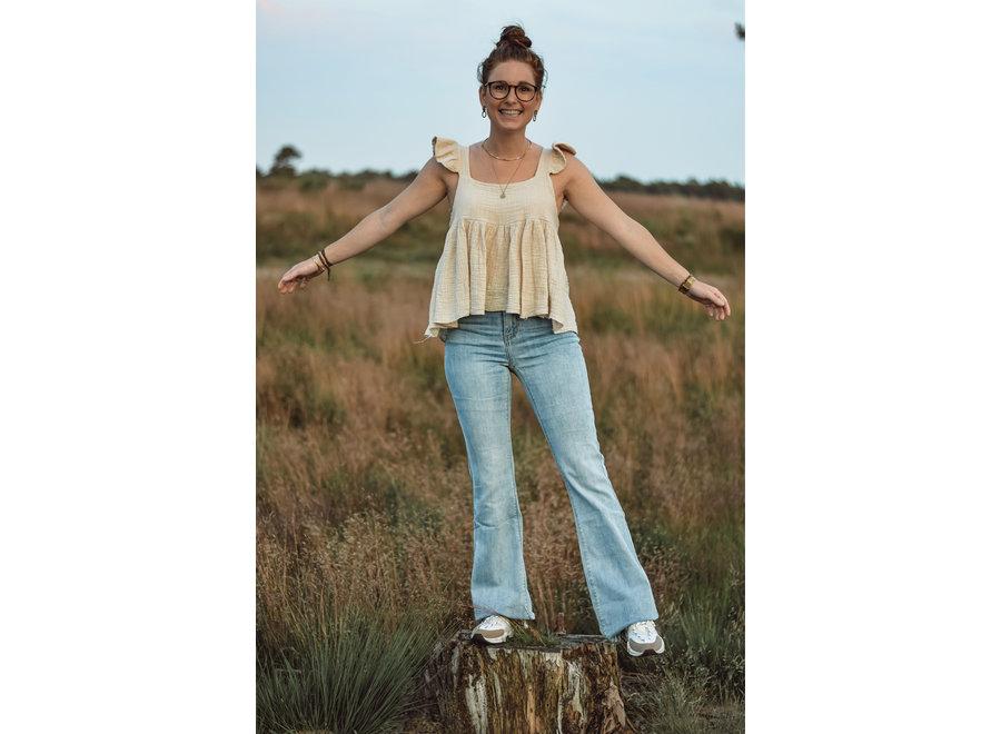 Flared Jeans Denim