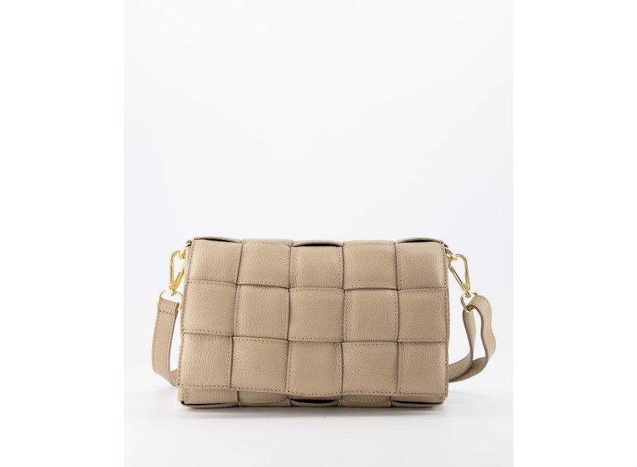 Bodina Leather Bag Taupe
