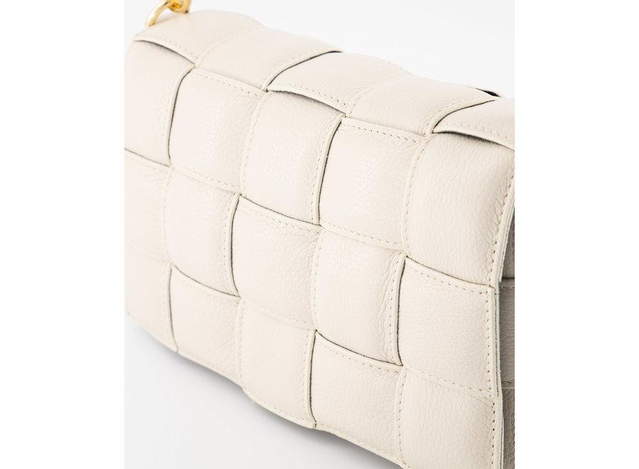 Bodina Leather Bag Ecru