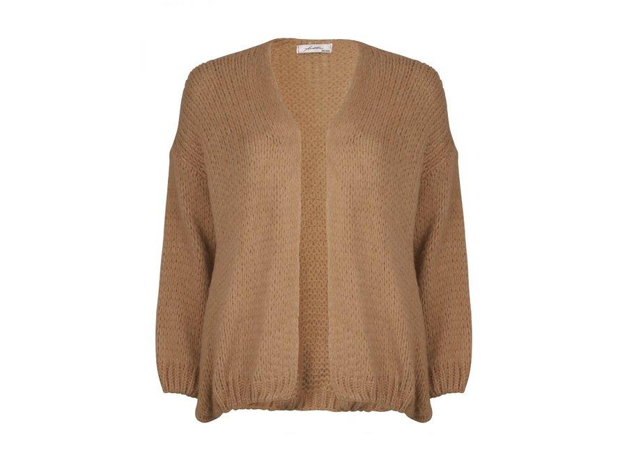 Basic Knit Camel