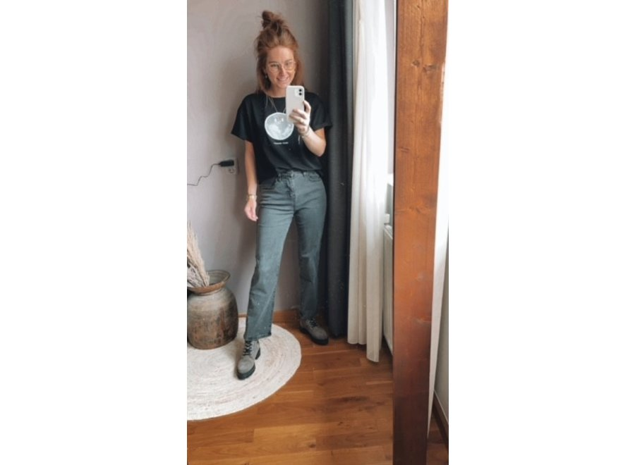 Owi Jeans Black