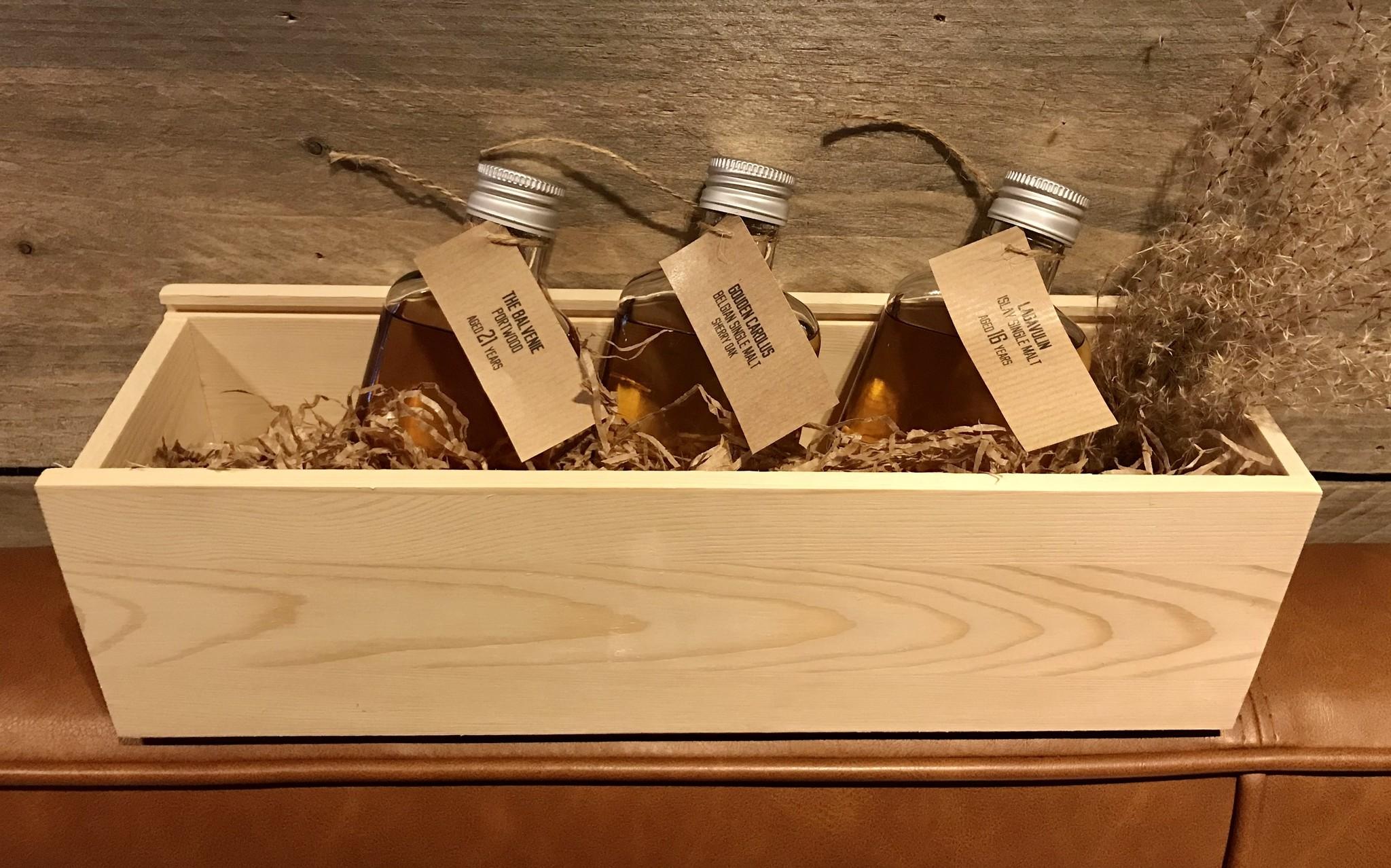 Whisky degustatiebox klein