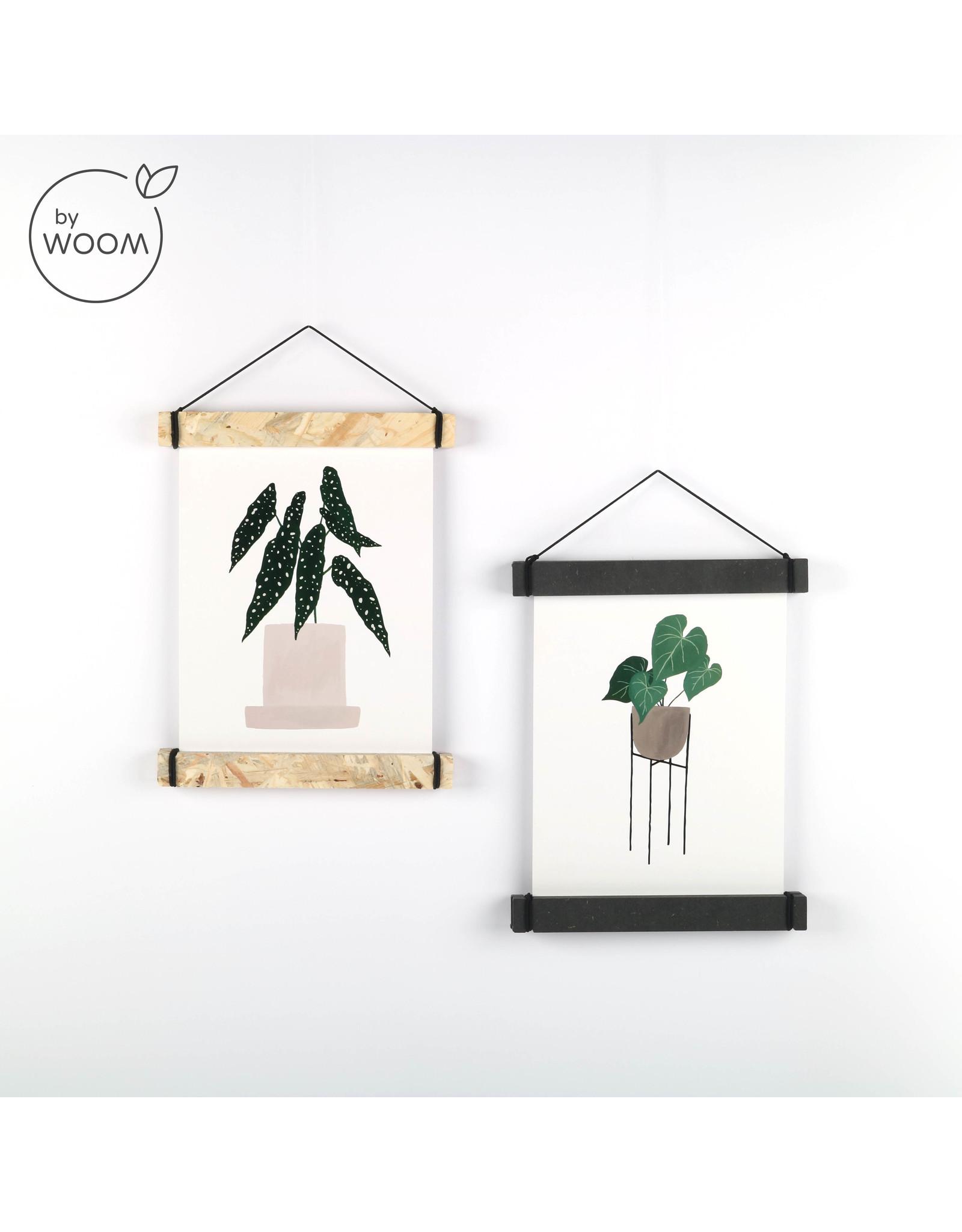 By WOOM |  Posterhanger A5  |  OSB