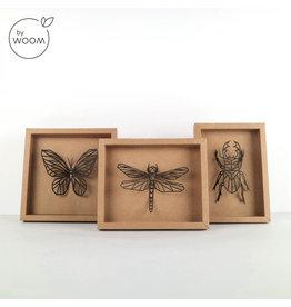 By WOOM |  Beesten in lijst