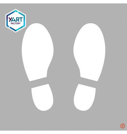 YF Specials Stencil  |  Footsteps