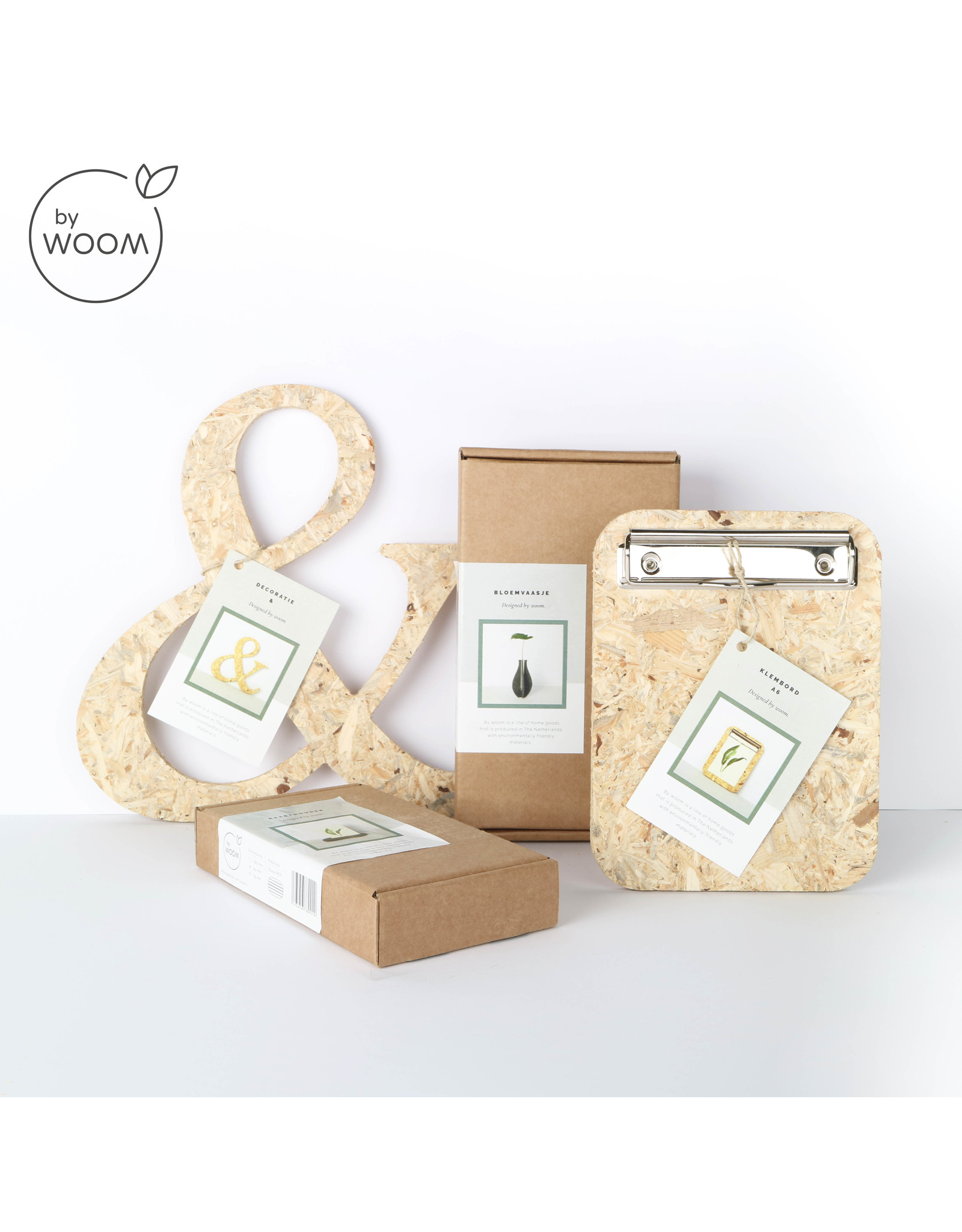 By WOOM |  Cardholder with vase