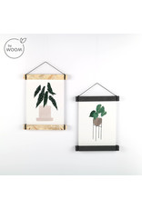 By WOOM |  Posterhanger A5  |  MDF