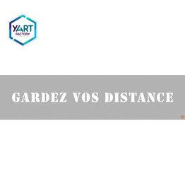 YF Specials Stencil  |  Gardez vos distances