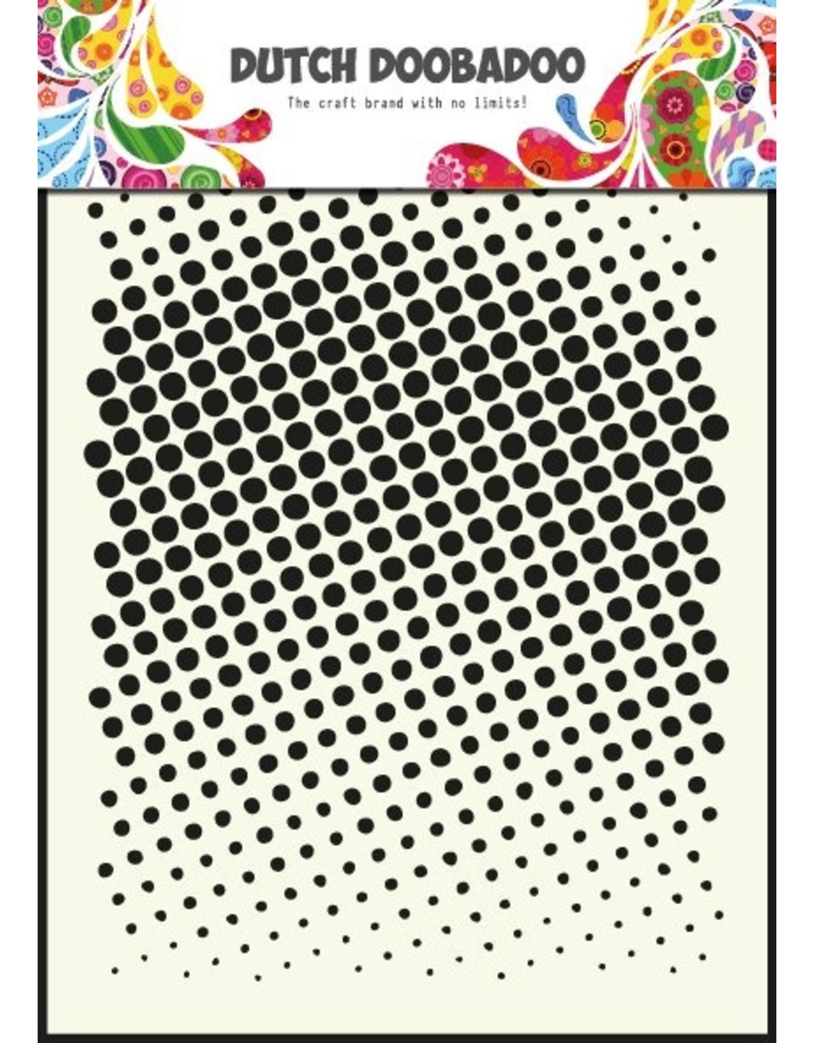 Dutch Doobadoo Dutch Mask Art A5 Faded dots