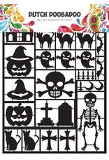 Dutch Doobadoo Dutch Paper Art A5 Black Halloween