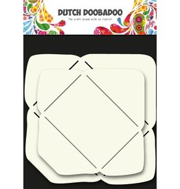 Dutch Doobadoo Polyester Envelope Stencil Small 2 pcs
