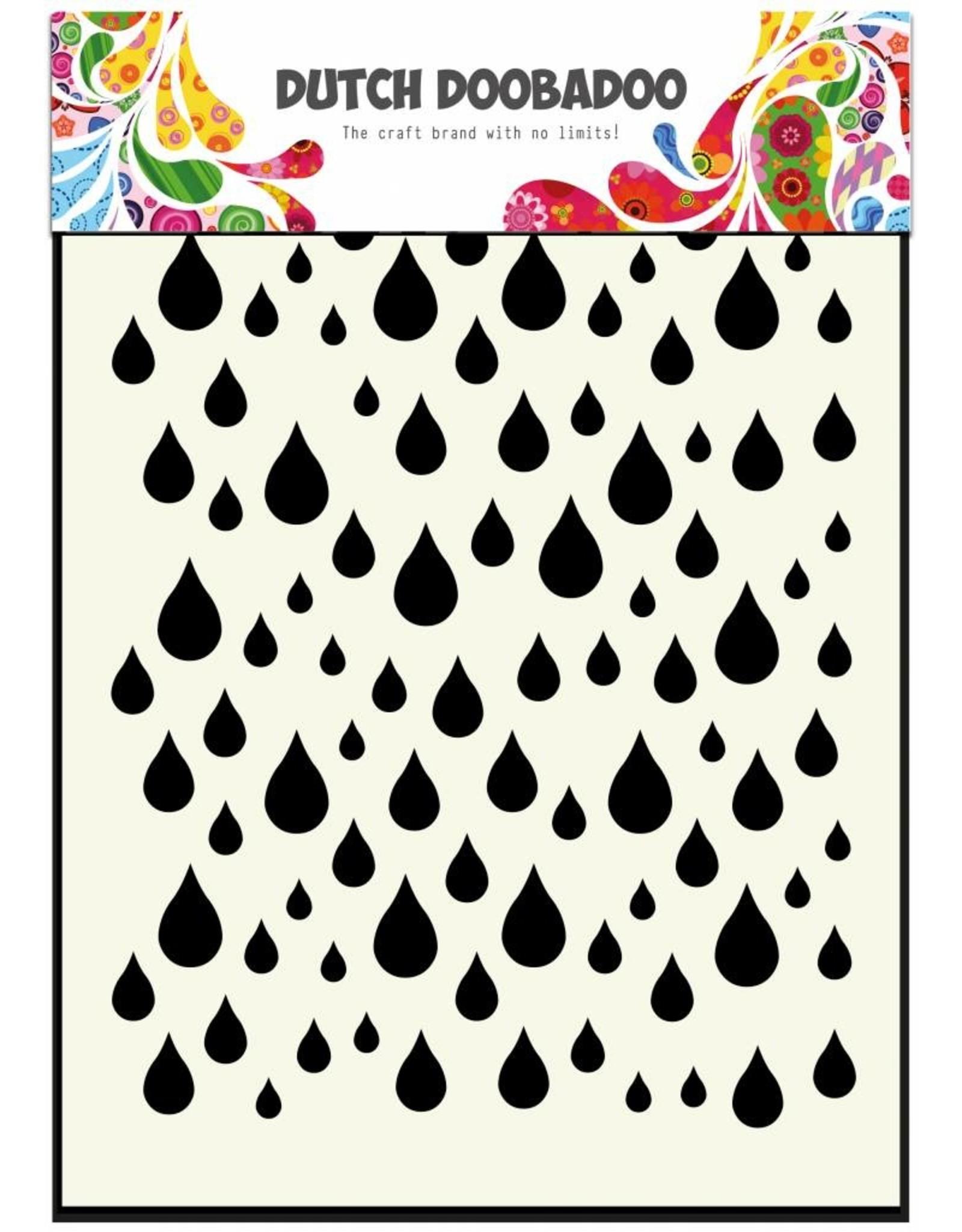 Dutch Doobadoo Dutch Mask Art A6 Rain drops