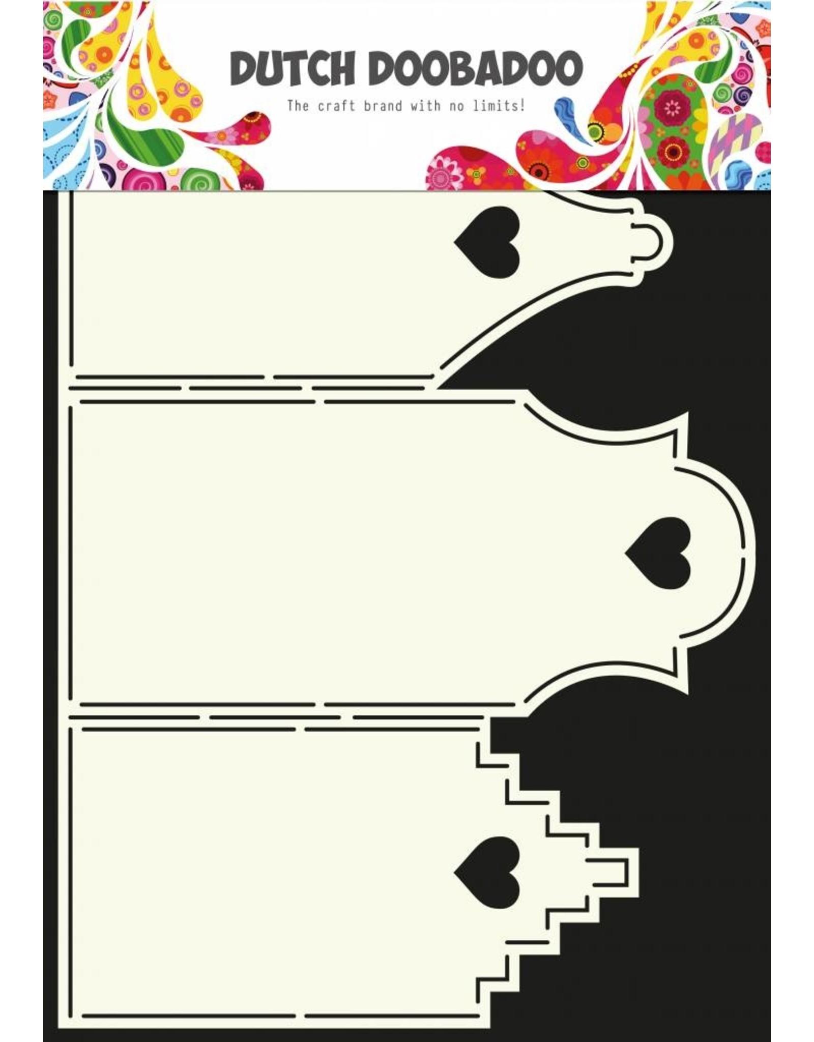 Dutch Doobadoo Dutch Card Art A4 Houses