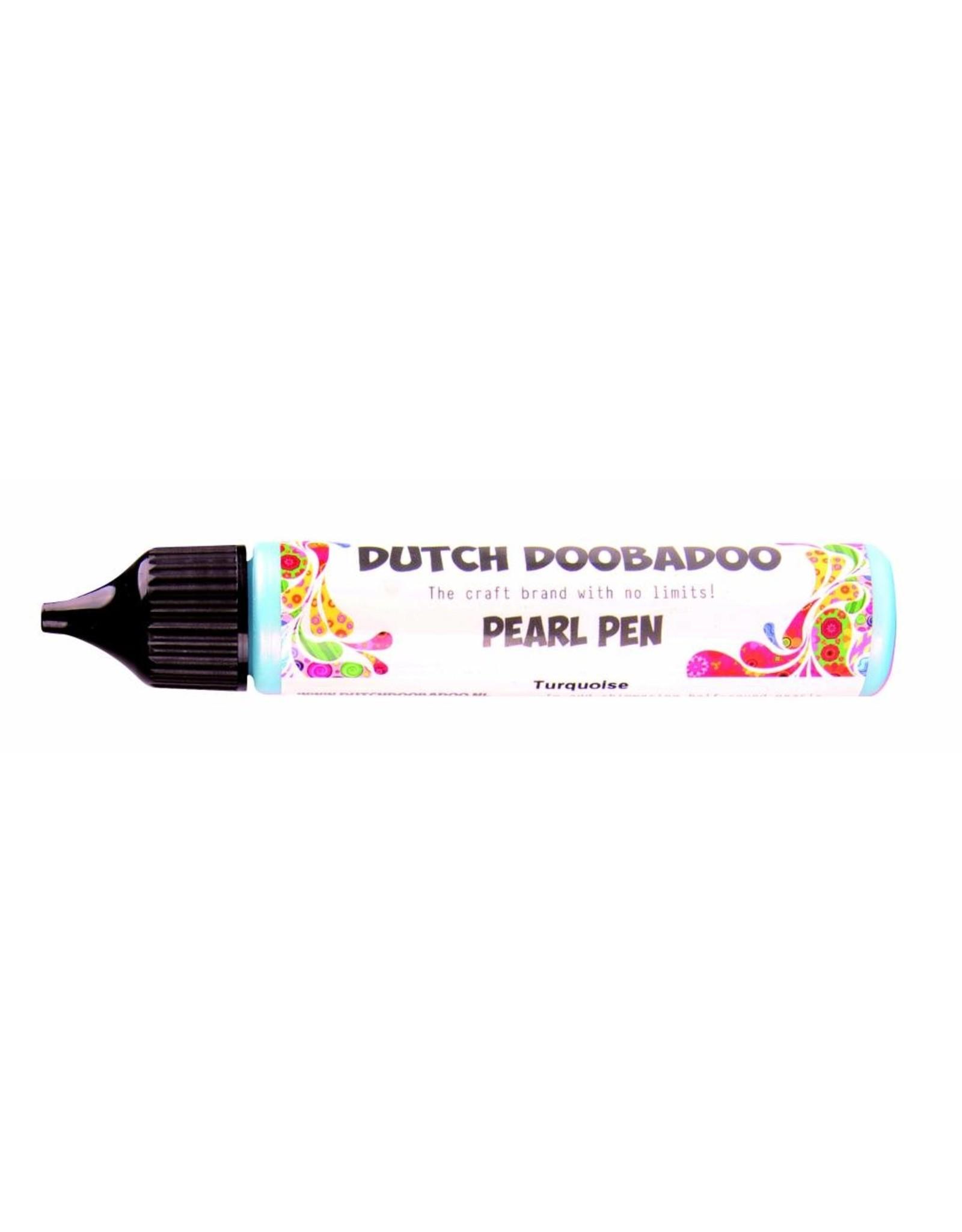 Dutch Doobadoo Dutch Pearl Pen Turquoise 28 ml bl.spraynozzle