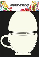 Dutch Doobadoo Dutch Fold Card Art A4 Teacup