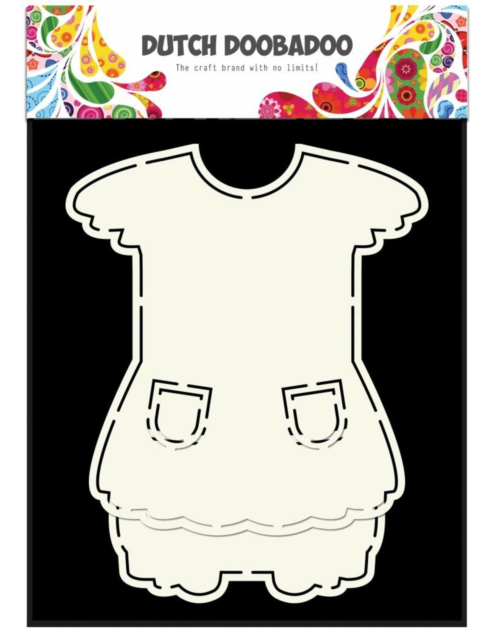 Dutch Doobadoo Dutch Fold Card Art A5 Dress