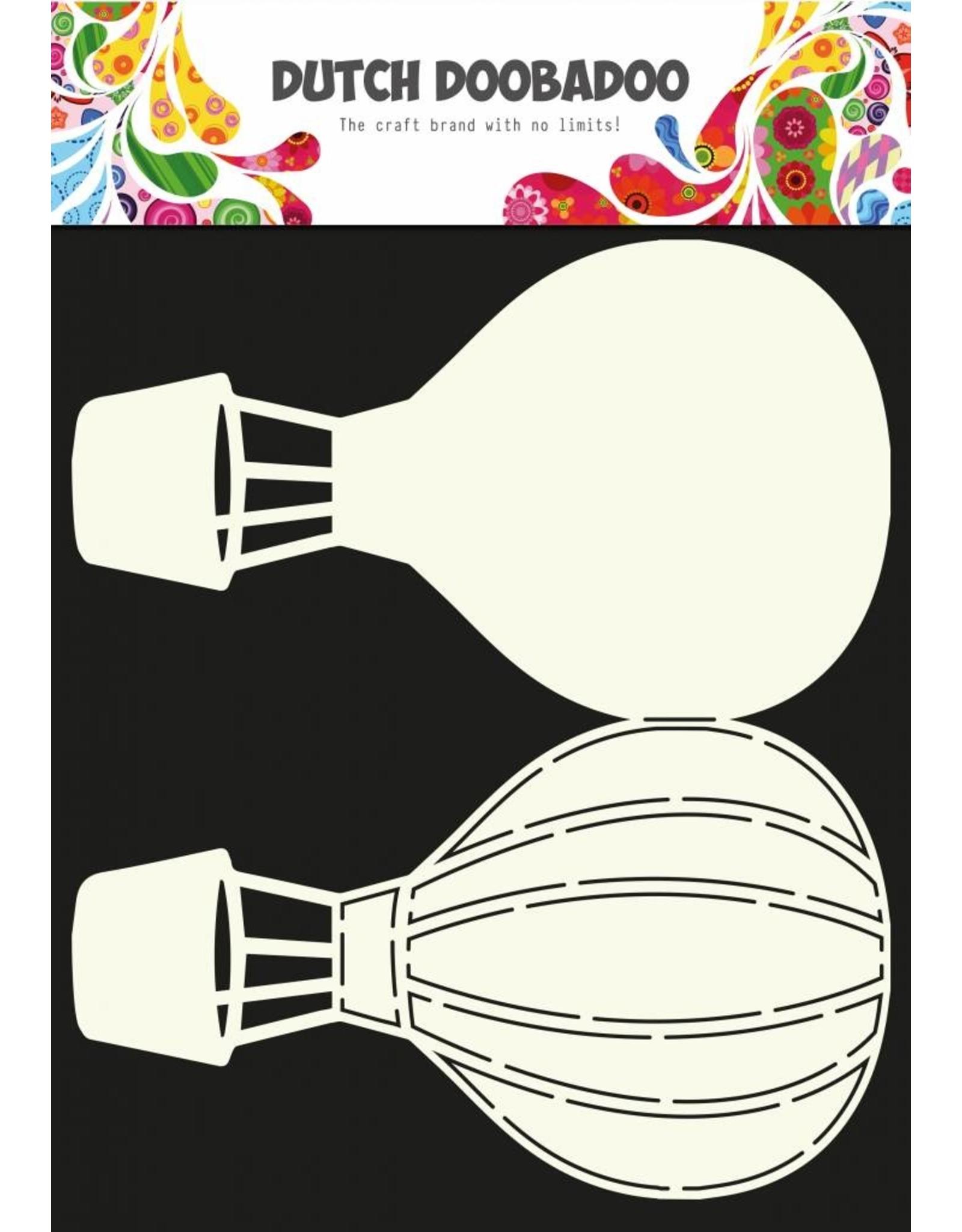 Dutch Doobadoo Dutch Fold Card Art A4 Airballoon
