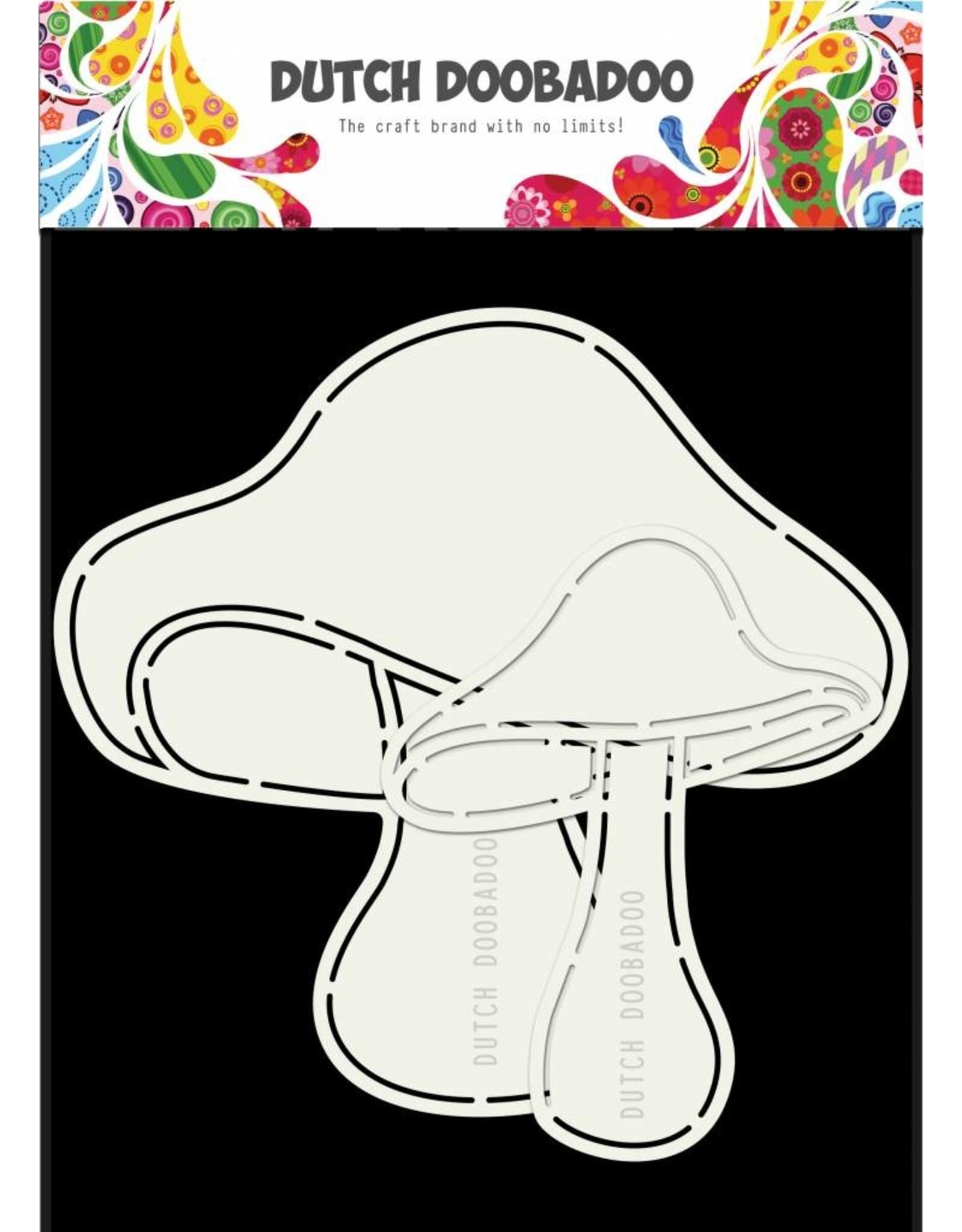 Dutch Doobadoo Dutch Card Mushrooms 2pcs A5