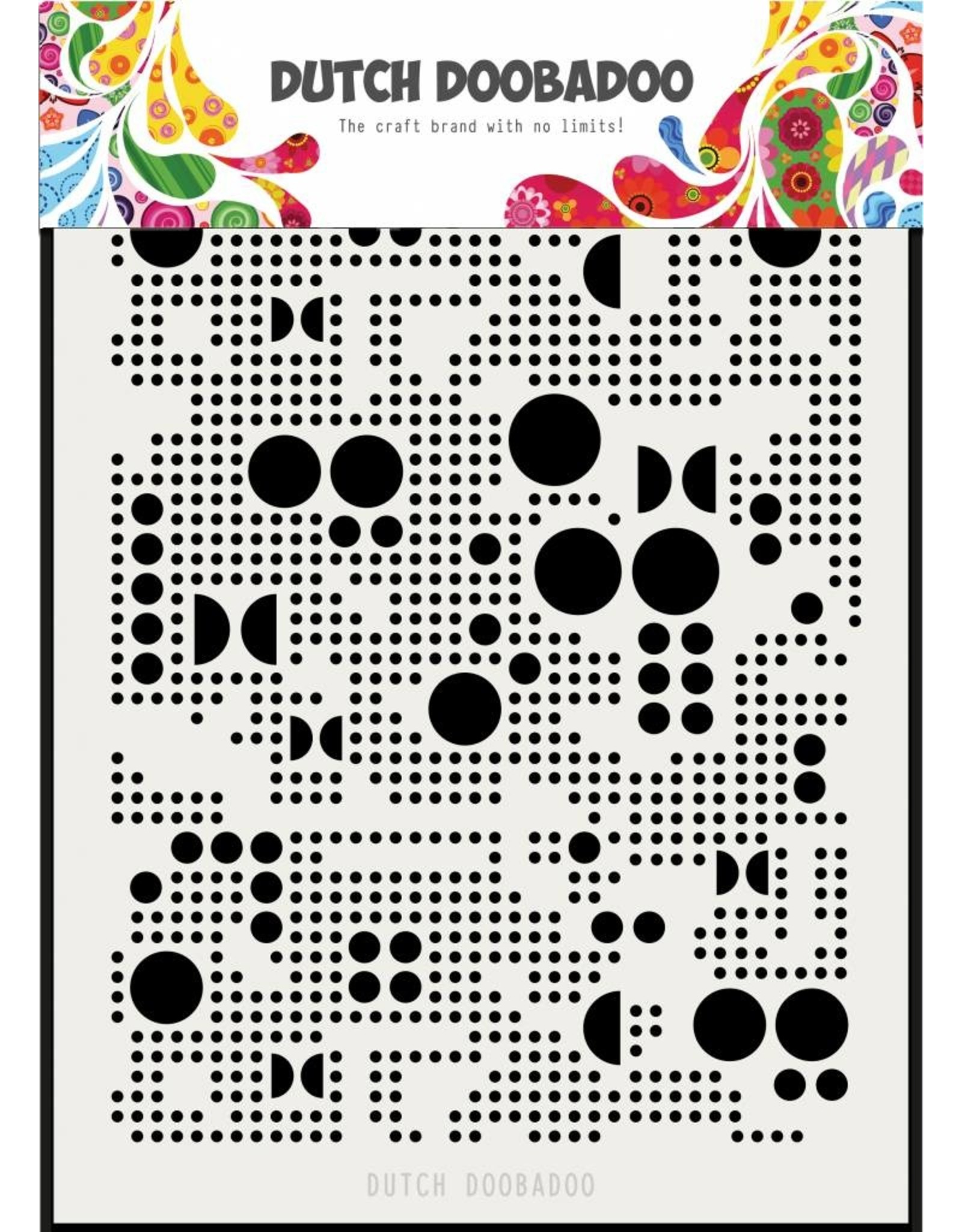 Dutch Doobadoo Dutch Mask Art Mylar Various Dots A5