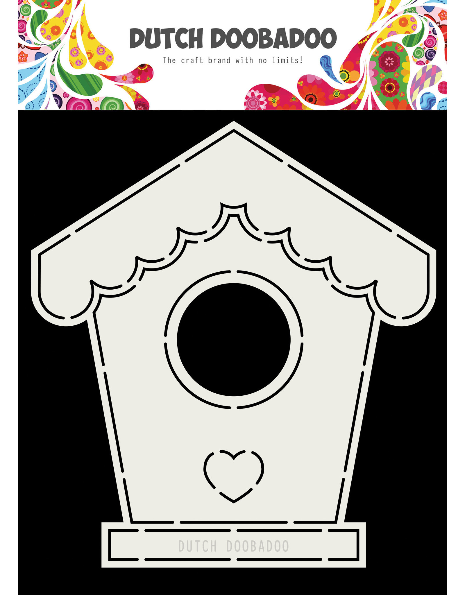 Dutch Doobadoo Dutch Card Art Birdhouse A5