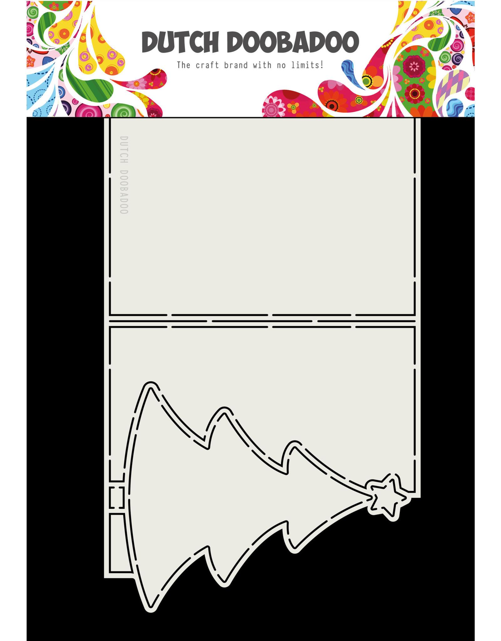 Dutch Doobadoo Dutch Card Art Christmas Tree A4