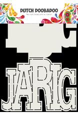 Dutch Doobadoo Dutch Card Art Jarig A5