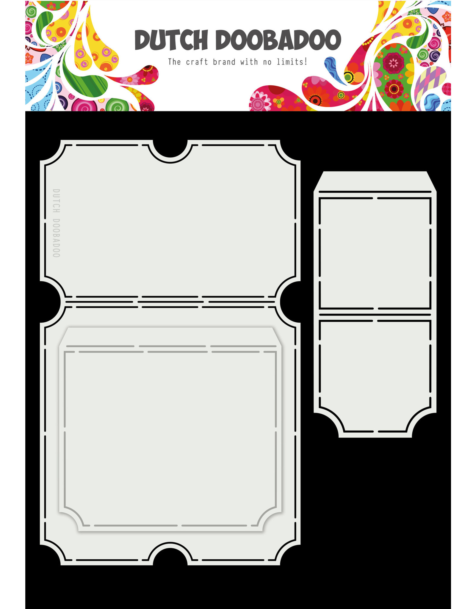 Dutch Doobadoo Dutch Card Art A4 Tickets