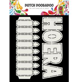 Dutch Doobadoo Dutch Card Art Hoera Kaarsen 2 set A5