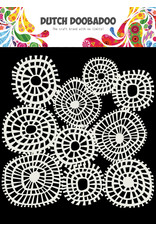 Dutch Doobadoo DDBD Mask Art 15 X 15 cm Linnen circles