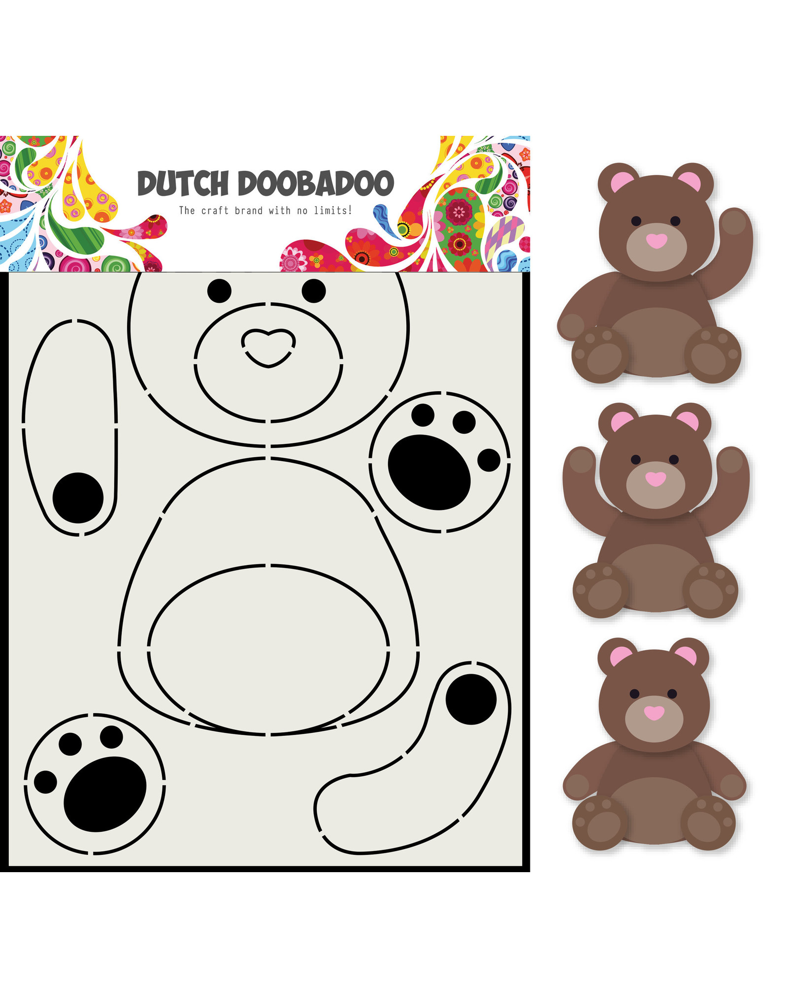 Dutch Doobadoo DDBD Card Art Berenjacht A5