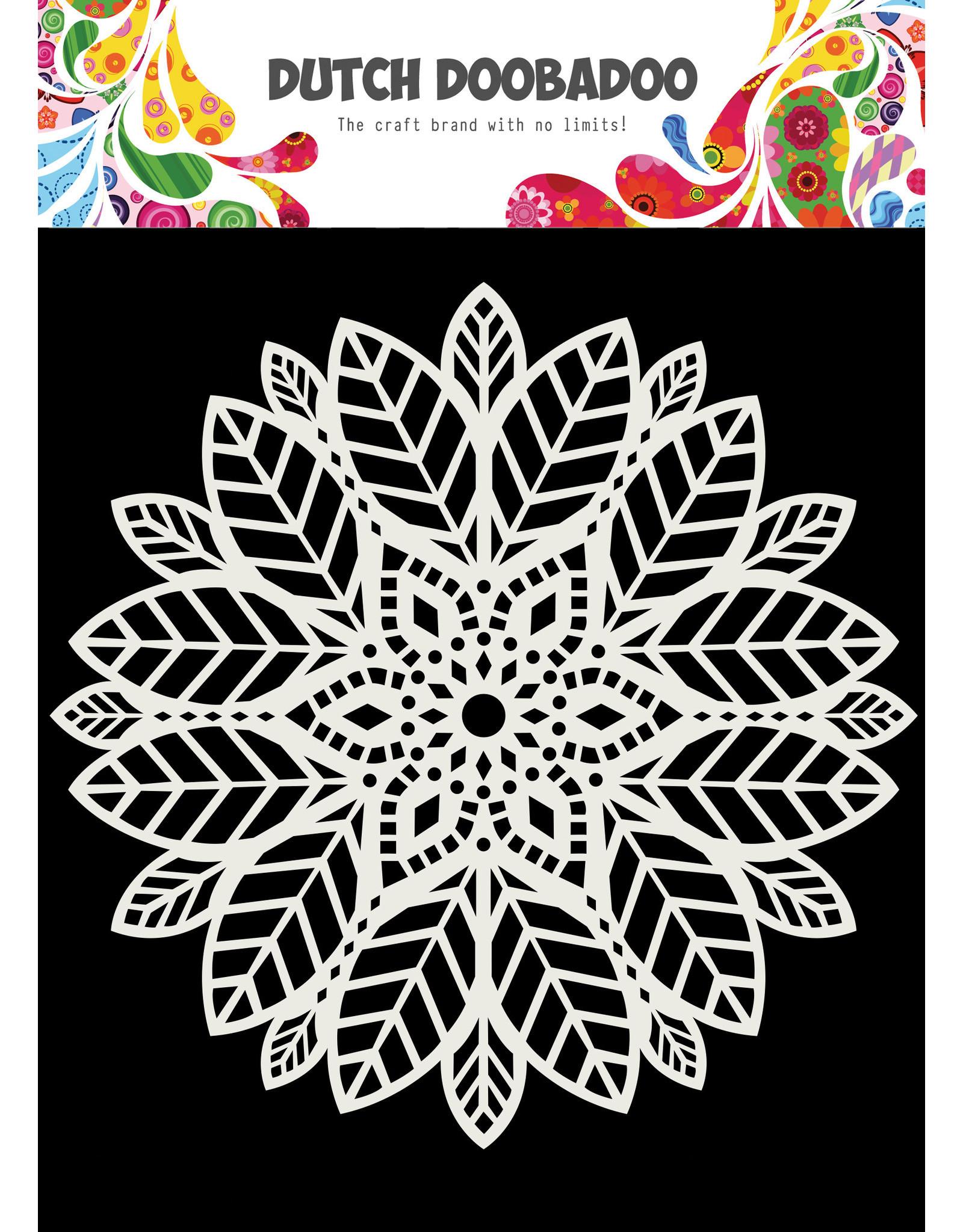 Dutch Doobadoo DDBD Mask Art 15X15cm Mandala leaves