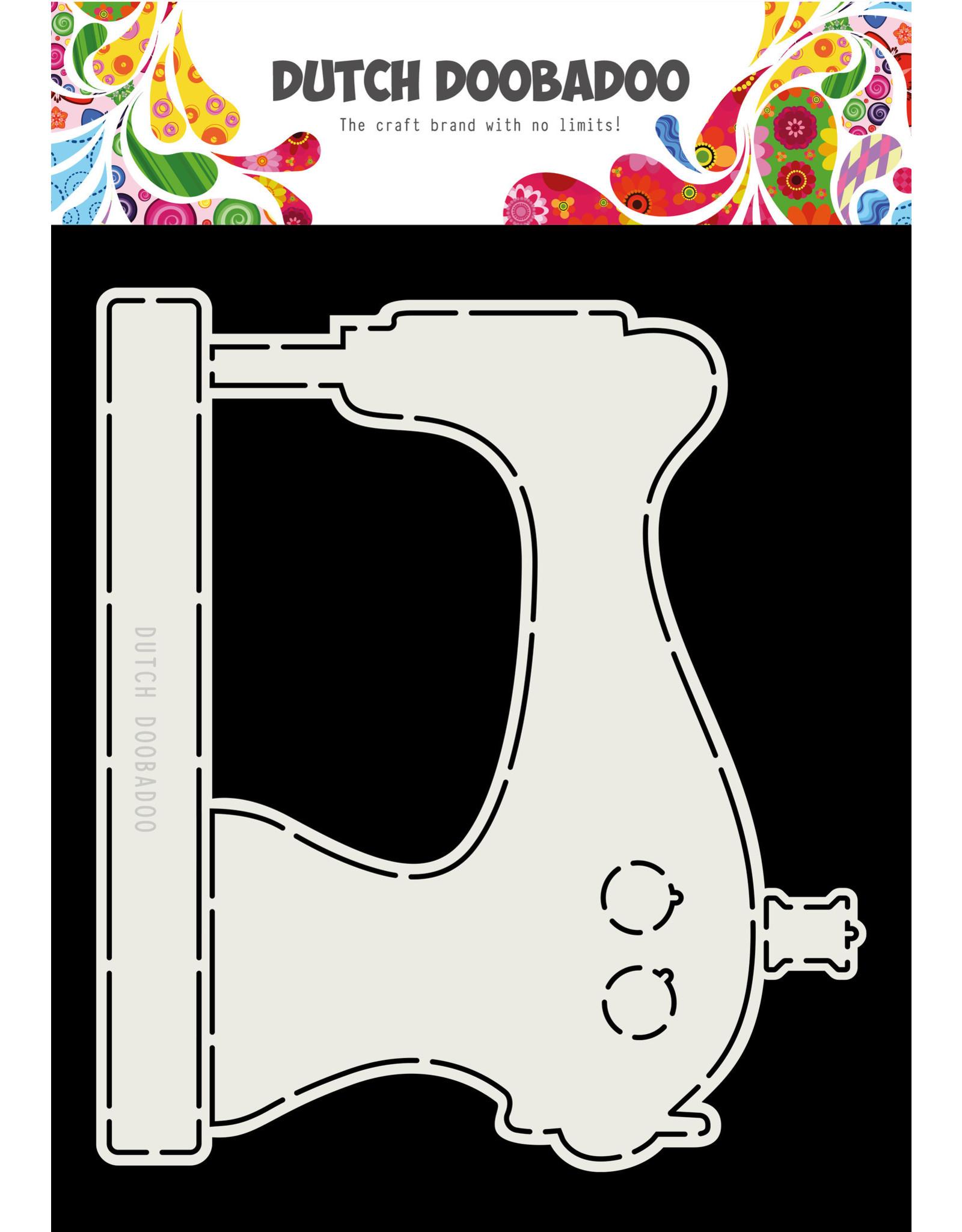 Dutch Doobadoo DDBD Card Art Sewing Machine A5