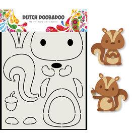 Dutch Doobadoo DDBD Card Art Eekhoorn A5