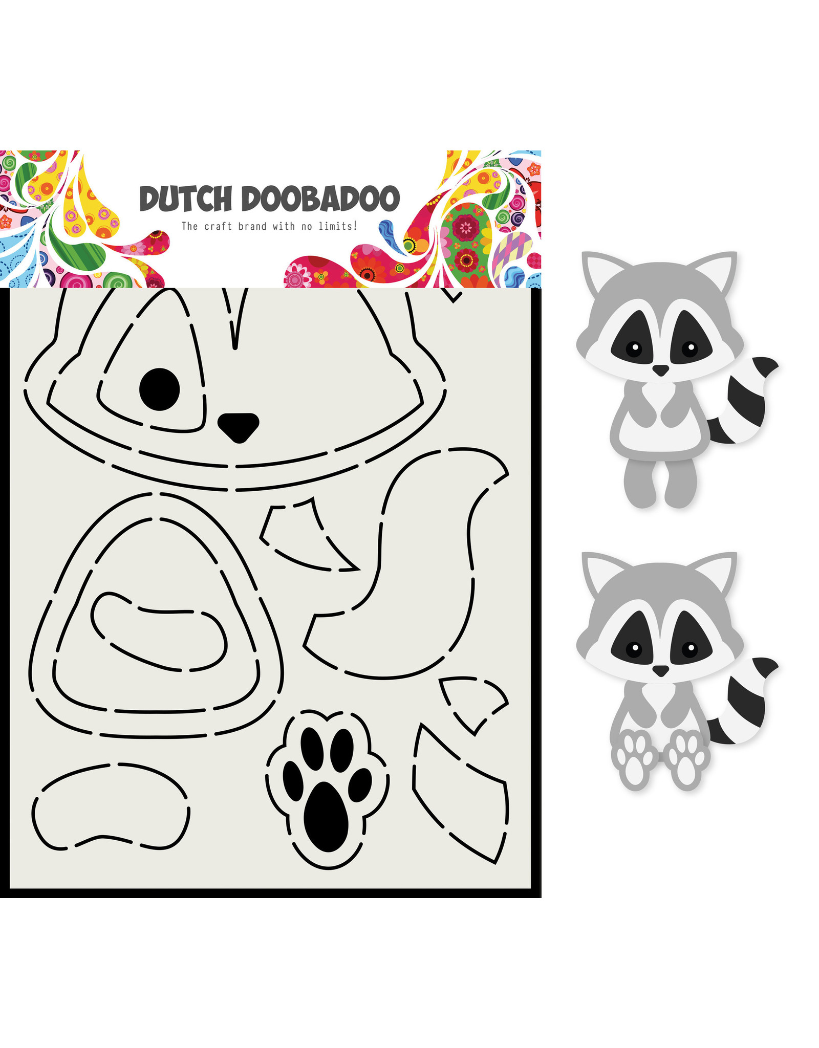 Dutch Doobadoo DDBD Card Art A5 Wasbeer