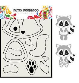 Dutch Doobadoo DDBD Card Art A5 Wasbeer