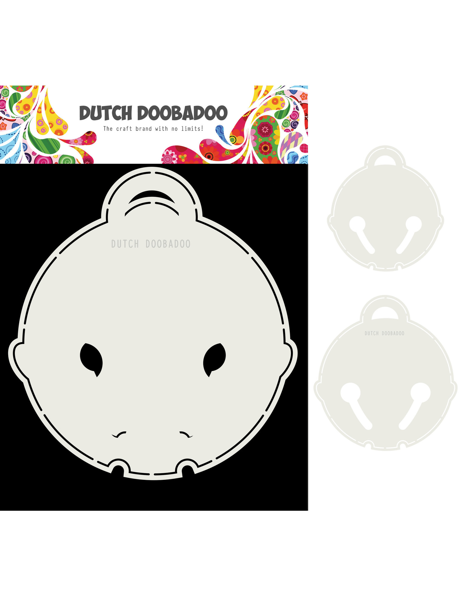 Dutch Doobadoo DDBD Card Art Kattenbel 2 set A5
